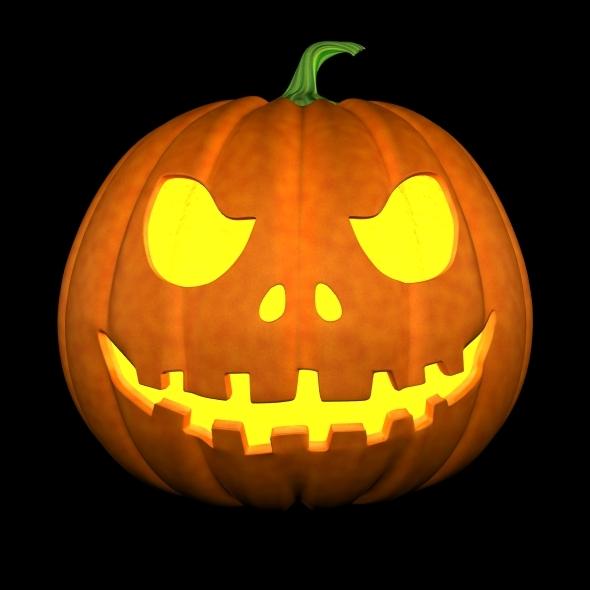 3DOcean halloween pumpkin 7901616