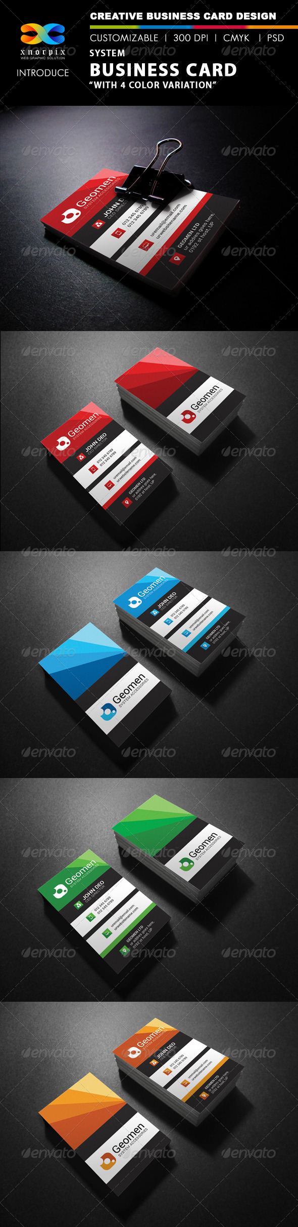 GraphicRiver System Business Card 7901718