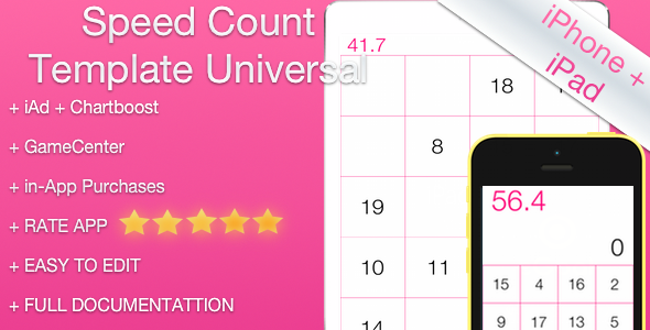 CodeCanyon Speed Count Universal Template 7901981