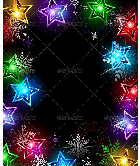 GraphicRiver Electric Stars 7860418