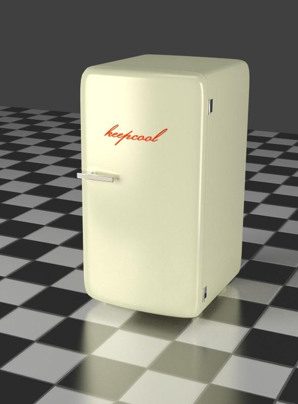 3DOcean Refrigerator oldwhite 7903296