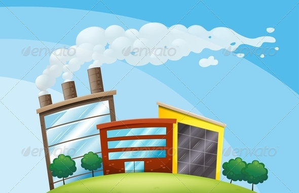 GraphicRiver Small Factory 7903306