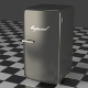 A gray Refrigerator  - 3DOcean Item for Sale