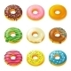 Set of Tasty Donuts - GraphicRiver Item for Sale
