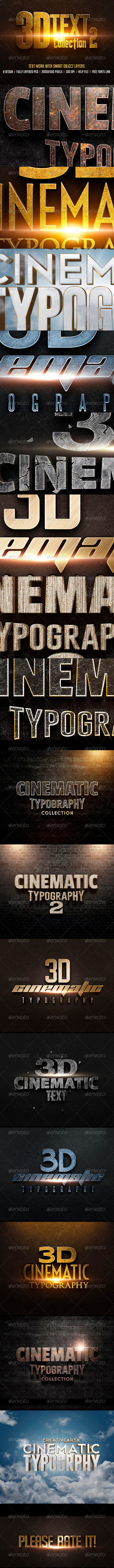 GraphicRiver 3D Text Col 2 7908378