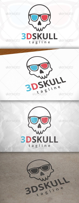 GraphicRiver 3D Skull Logo 7908777