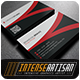 IntenseArtisan Business Card Vol.65 - GraphicRiver Item for Sale