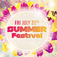 Summer Festival - GraphicRiver Item for Sale