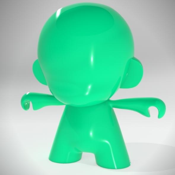3DOcean Munny toy 7909921