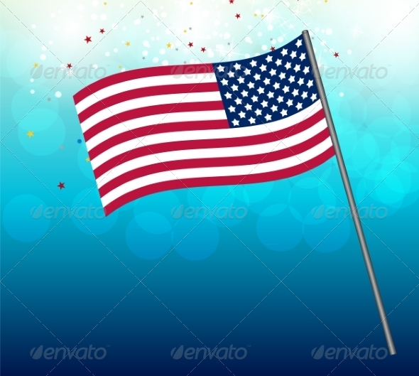 GraphicRiver Independence Day Poster Illustration 7909923