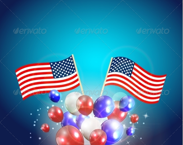 GraphicRiver Independence Day Poster Illustration 7909925
