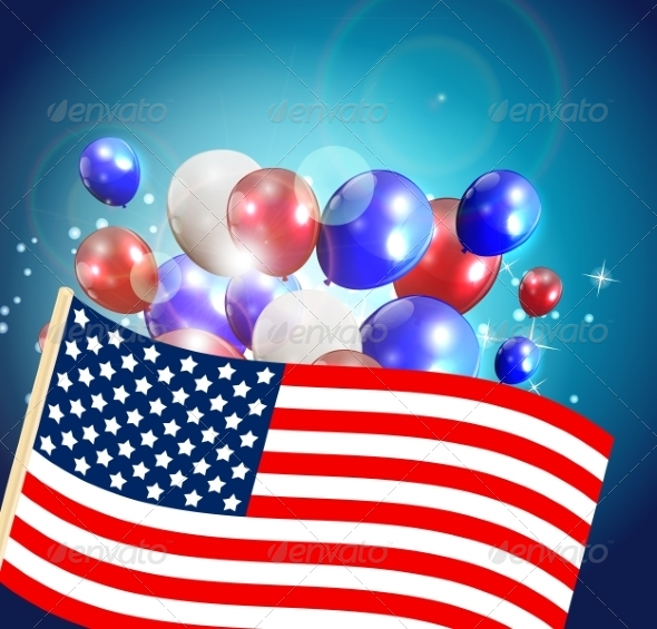 GraphicRiver Independence Day Poster Illustration 7909931