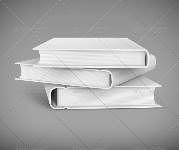 GraphicRiver Pile of Books 7910147