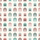 Animal Seamless Pattern of Kennels - GraphicRiver Item for Sale