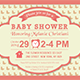 Baby Shower Template - Vol. 5 - GraphicRiver Item for Sale