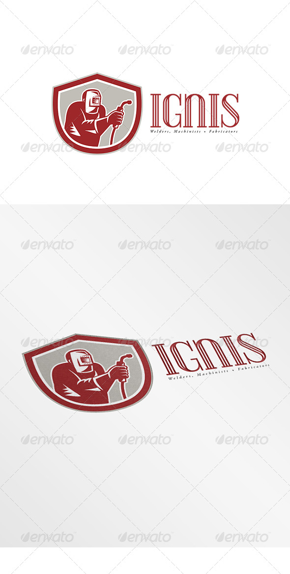 GraphicRiver Ignis Fabricators Logo 7912627
