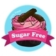 Sweet Cupcake with a Sugar Free Label - GraphicRiver Item for Sale