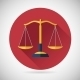 Law, Justice Scales Icon - GraphicRiver Item for Sale