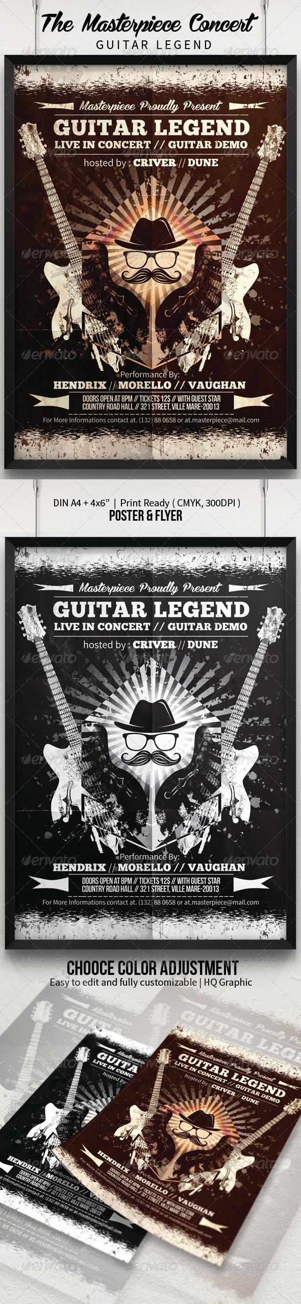 GraphicRiver Guitar Legend Poster Flyer 7914855