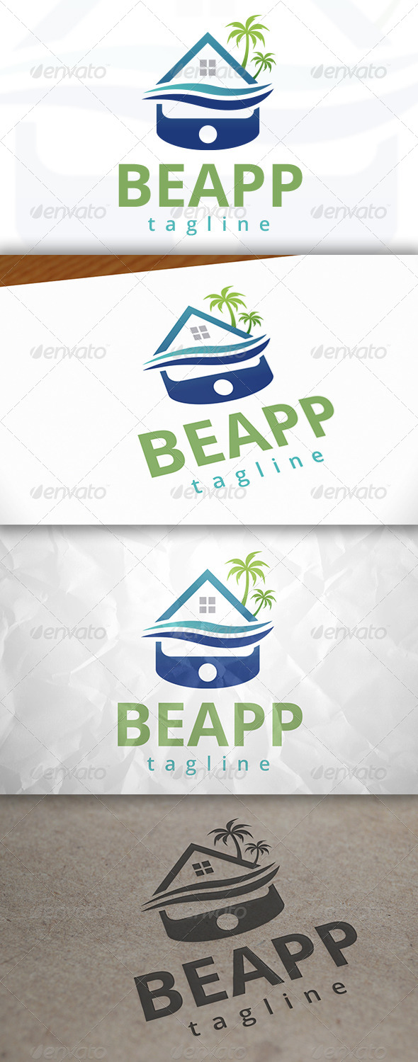 GraphicRiver Beach APP Logo 7915720