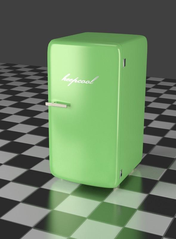 3DOcean Green Refrigerator 7916104