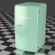 Mint Refrigerator - 3DOcean Item for Sale