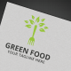 Green Food Logo - GraphicRiver Item for Sale