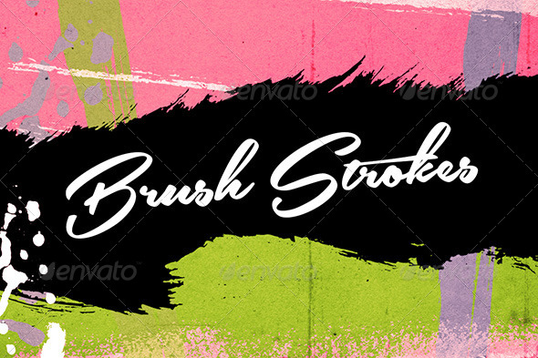 GraphicRiver Brush Stroke Textures 7916945