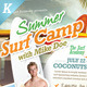 Summer Surf Camp Flyers - GraphicRiver Item for Sale