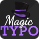 Magic Typo - VideoHive Item for Sale