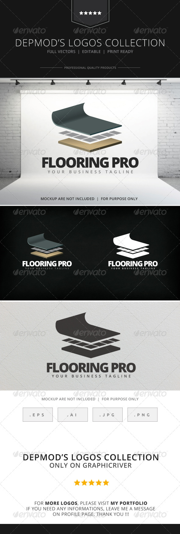 GraphicRiver Flooring Pro Logo 7919950