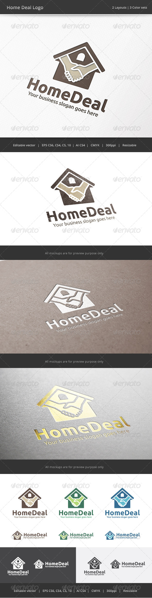 GraphicRiver Home Deal Logo 7920162