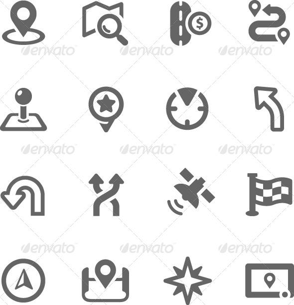 GraphicRiver Navigation Icons 7920236