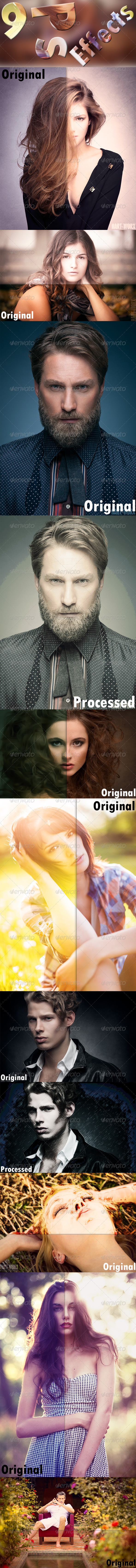 GraphicRiver 9 Photoshop Effects 7922073