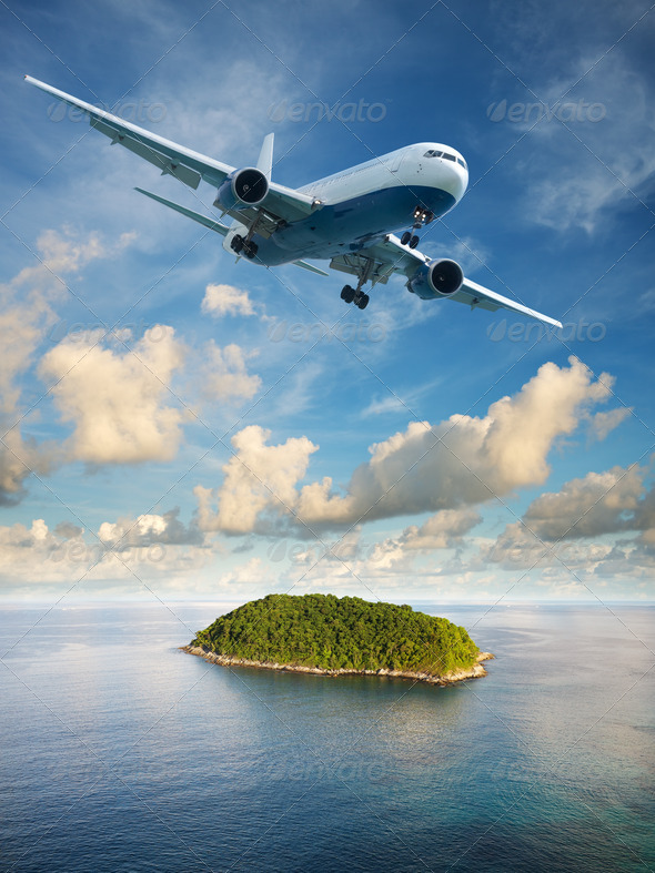 Stock Photo - PhotoDune Flight to paradise 809612