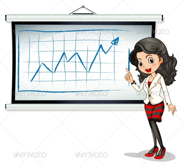 GraphicRiver Reporter with Chart 7925752