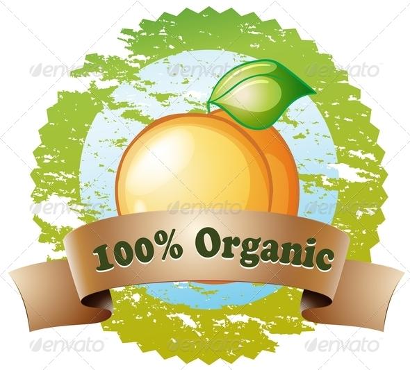 GraphicRiver Organic Label 7926554