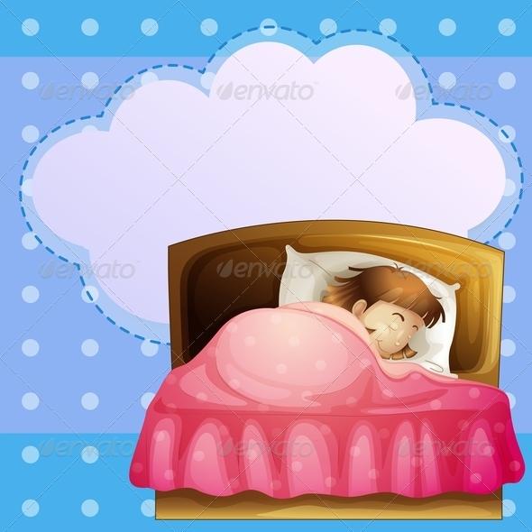 GraphicRiver Girl Sleeping 7926823