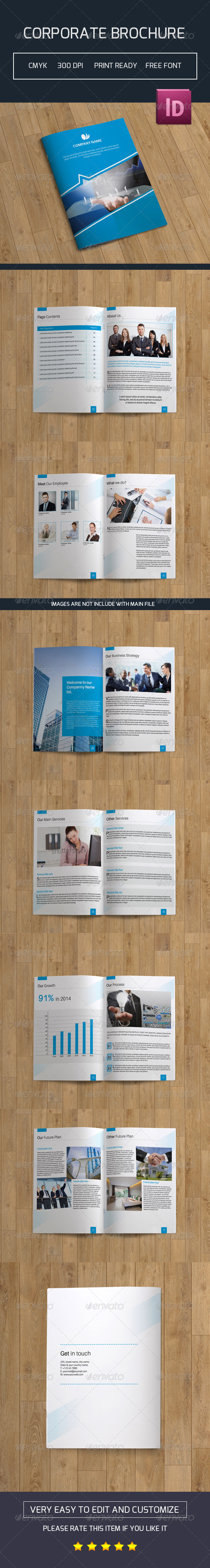 GraphicRiver Corporate Brochure-V37 7927063
