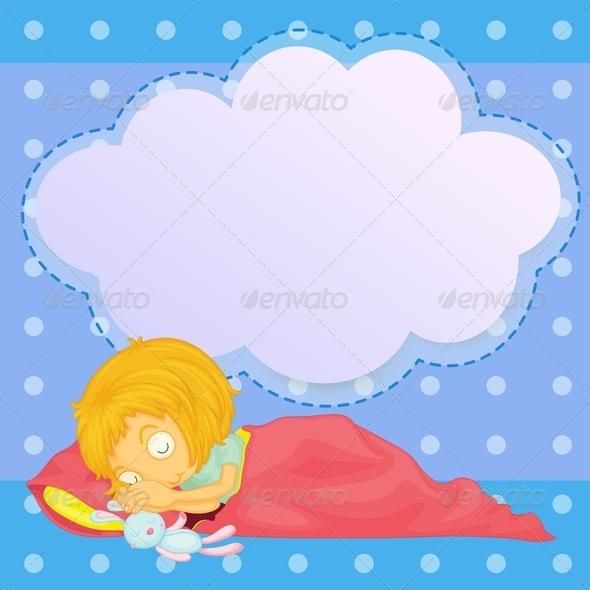 GraphicRiver Girl Sleep 7927534