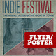 Indie Flyer/Poster Vol 003 - GraphicRiver Item for Sale