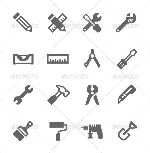 GraphicRiver Tools Icon 7928976