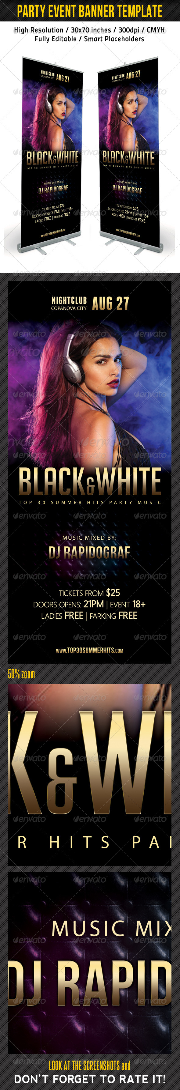 GraphicRiver Party Event Multipurpose Banner Template 08 7929622