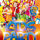 Kids Party PSD Flyer (Horizontal And Vertical) - GraphicRiver Item for Sale