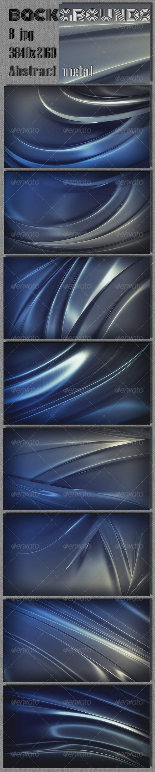 GraphicRiver Metal Abstract 4K Background 7930087