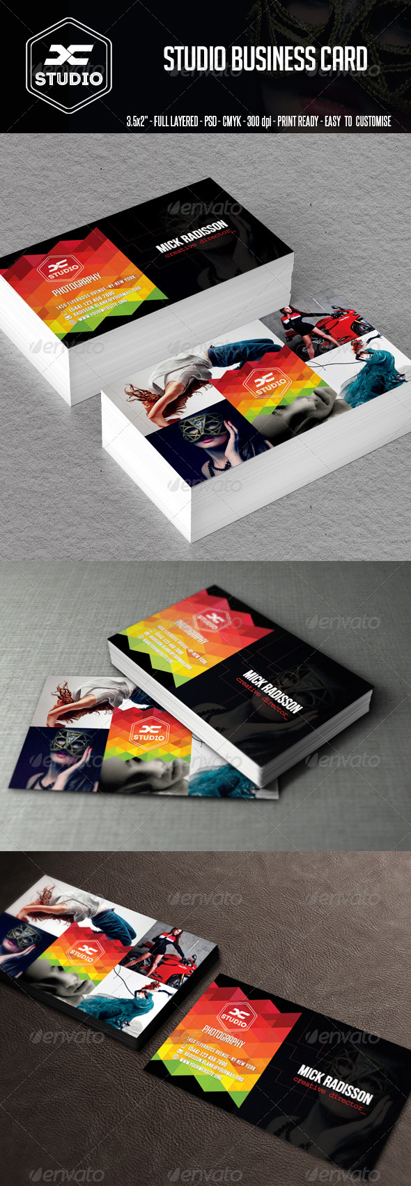 GraphicRiver Studio Business Card 7922097