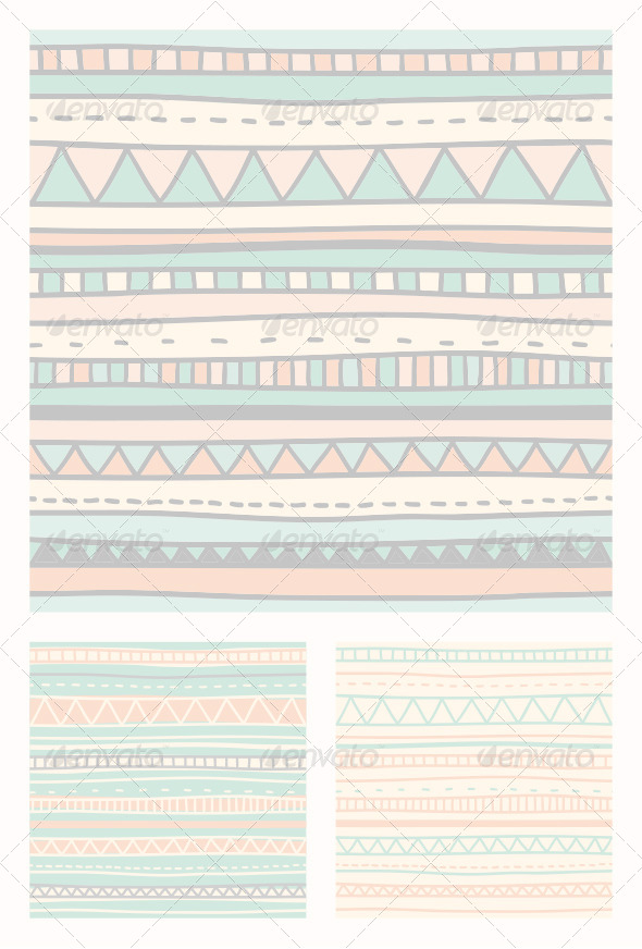 GraphicRiver Native Patterns 7930306
