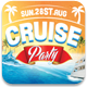 Cruise Party Facebook Cover - GraphicRiver Item for Sale
