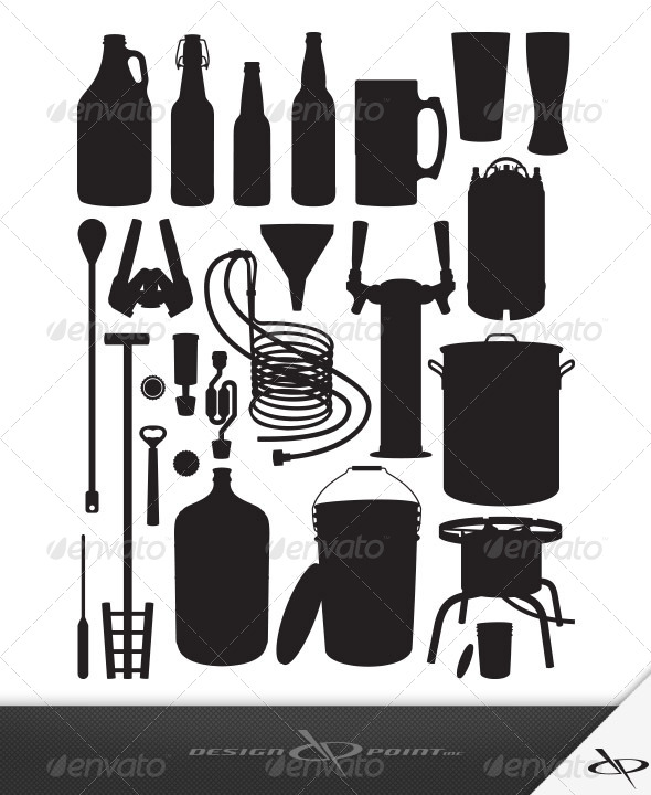 GraphicRiver Home Brewing Equipment 7902032
