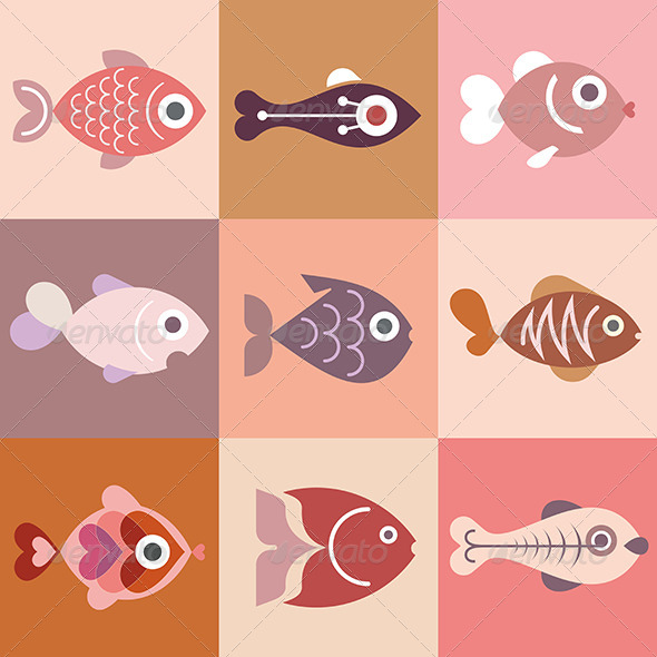 GraphicRiver Fishes 7931781